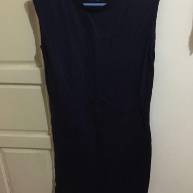 folded & hung loose dress