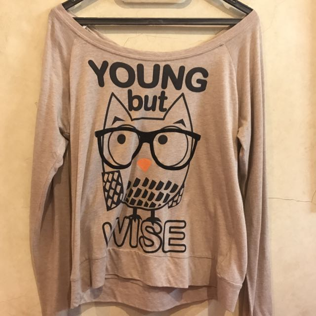 Forever 21 Young But Wise Top
