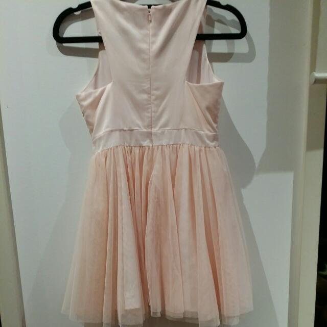 Girls Pink Party Dress