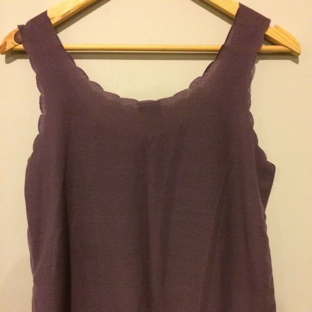 Glasson Loose Purple Top