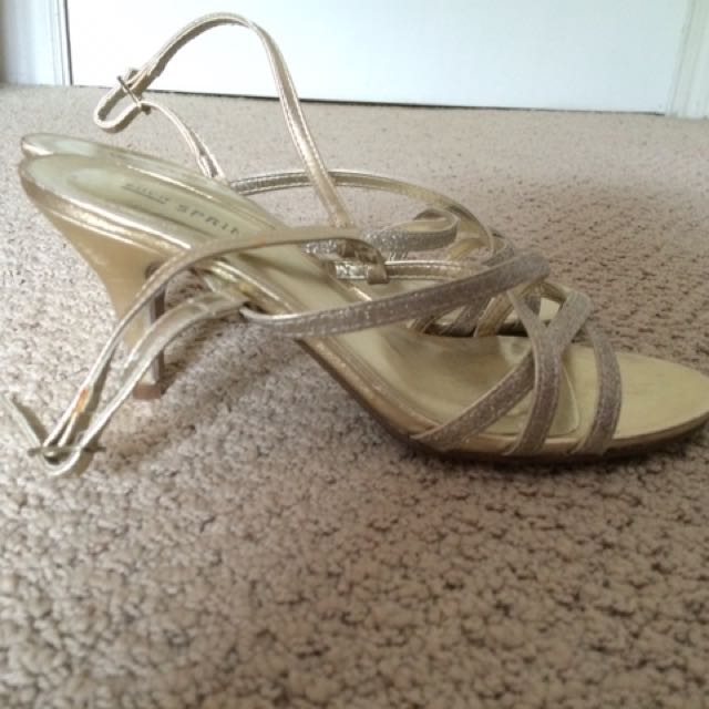 Gold Prom Shoes!