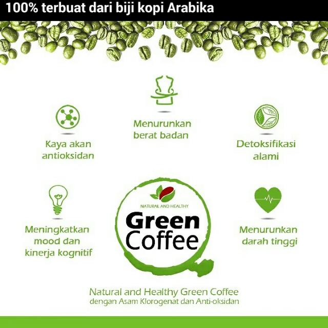 Green Coffee by Natural and Healhty