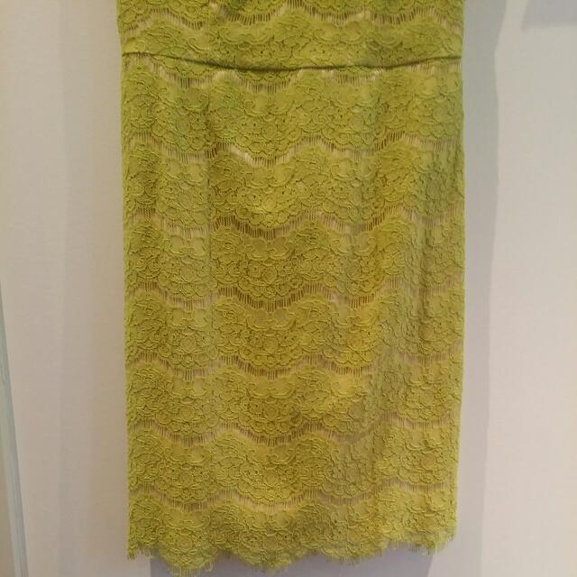 Green Lace Dress