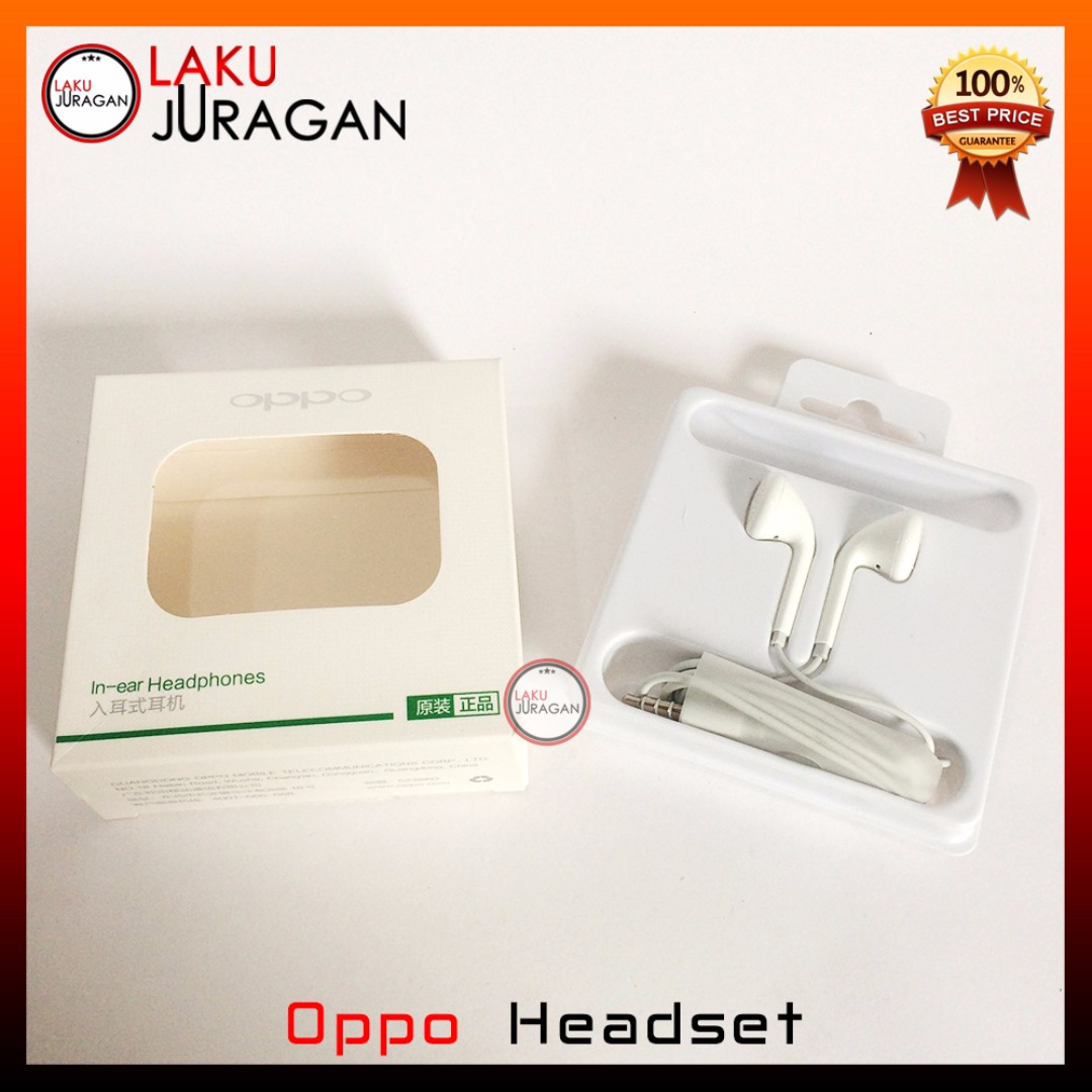 Headset Oppo Original F1S Neo Find 3 7 9 F3 R1X R1 R5 R9 R7S R7 A57 F1 Plus A39 A30 A33 Mirror 5 Joy