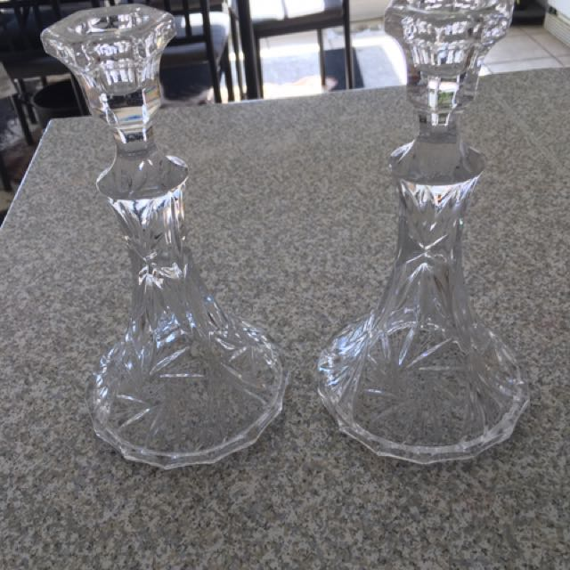 High Quality Crystal Candle Holder