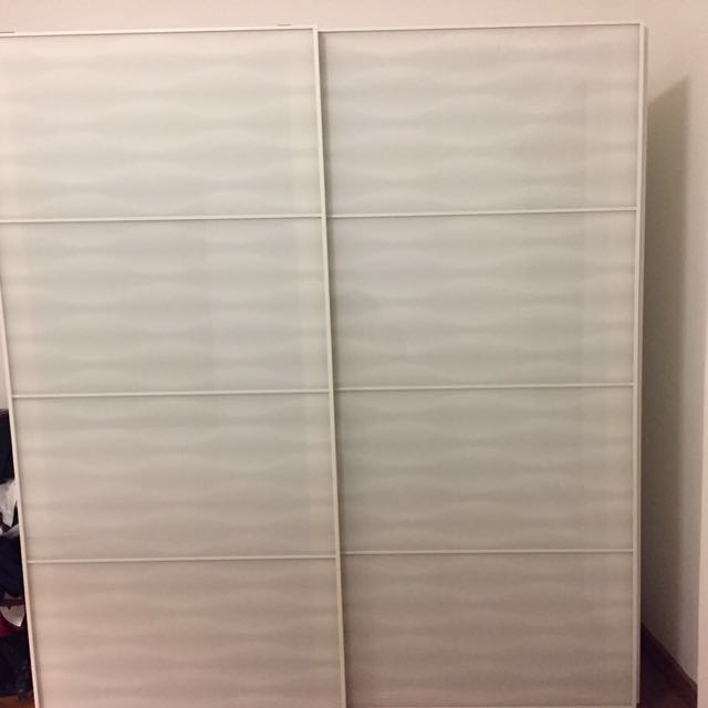 IKEA Custom 2 Piece Wardrobe