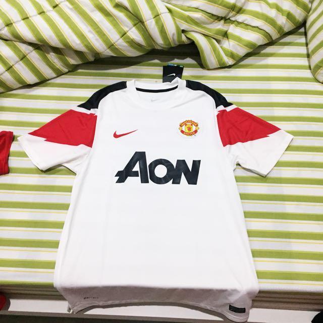 Jersey Manchester United Original BNWT Away Season 10/11
