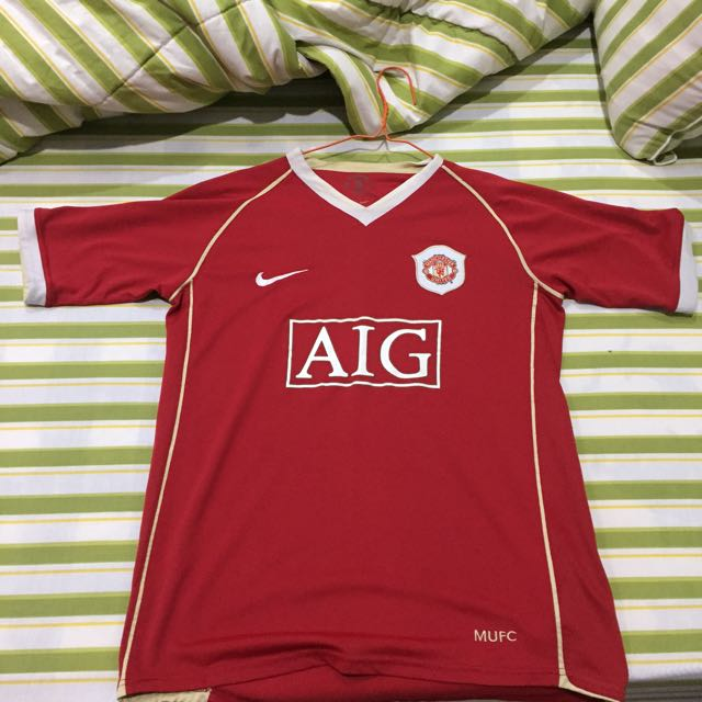 Jersey Manchester United Original Season 06/07 Home
