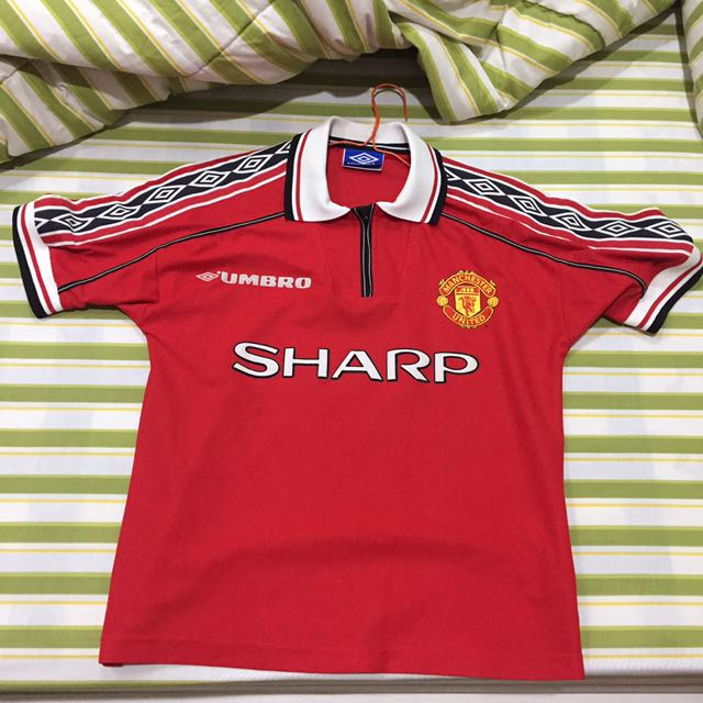 Jersey Manchester United Original Size Y Home Season 1999