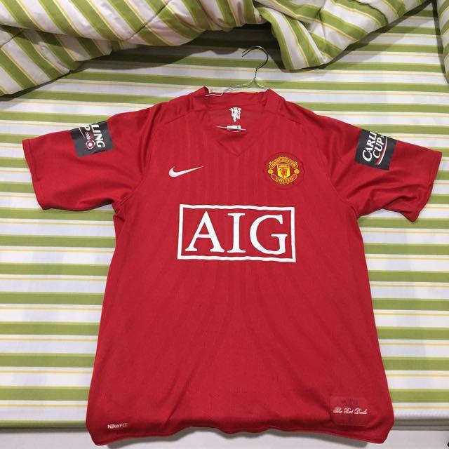 Jersey Manchester United Original Wayne Rooney Home Season 07/09