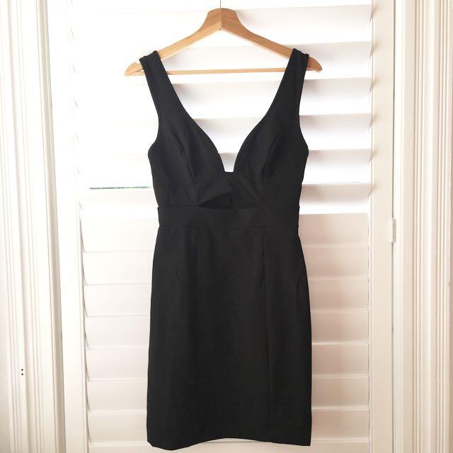 Kookai Plunge Mini Dress