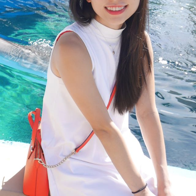 Kookai White Dress