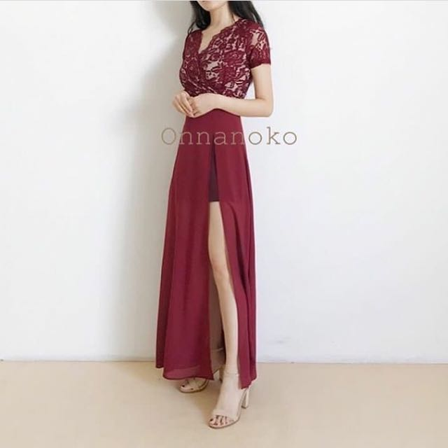 Lacey Dress RED