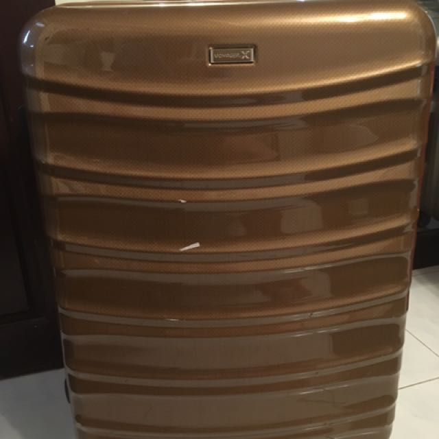 LARGE Voyager Gold Luggage