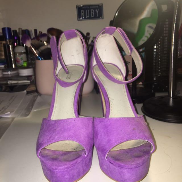 Lilac Betts Heels