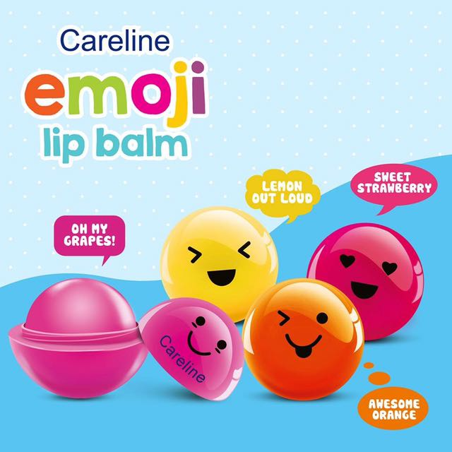 Lip Balm Emoji Careline