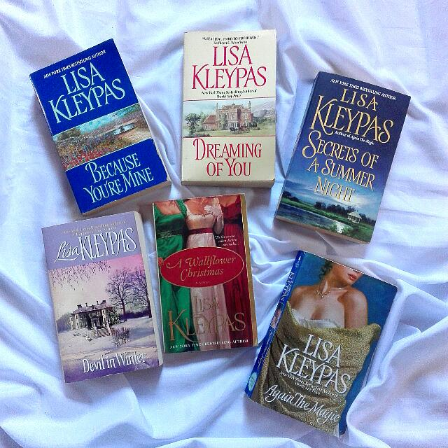 Lisa Kleypas Different Series Books