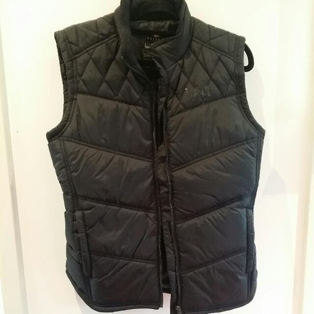 Lonsdale London New Black Puffer Vest