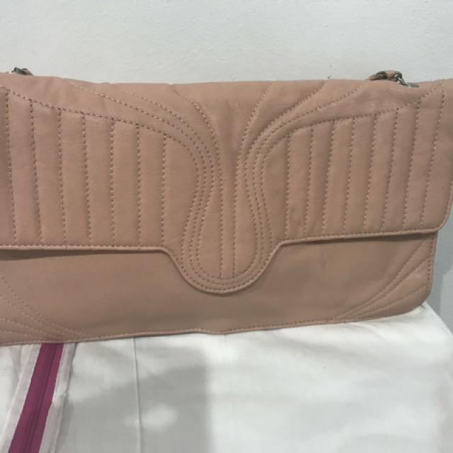 Mimco Pretty Pink Vintage Clutch