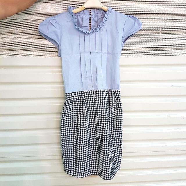 Mini Dress Houndstooth