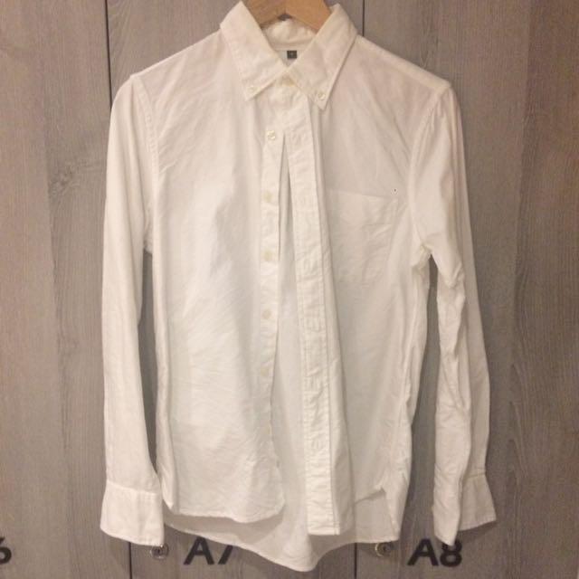 MUJI 白色襯衫