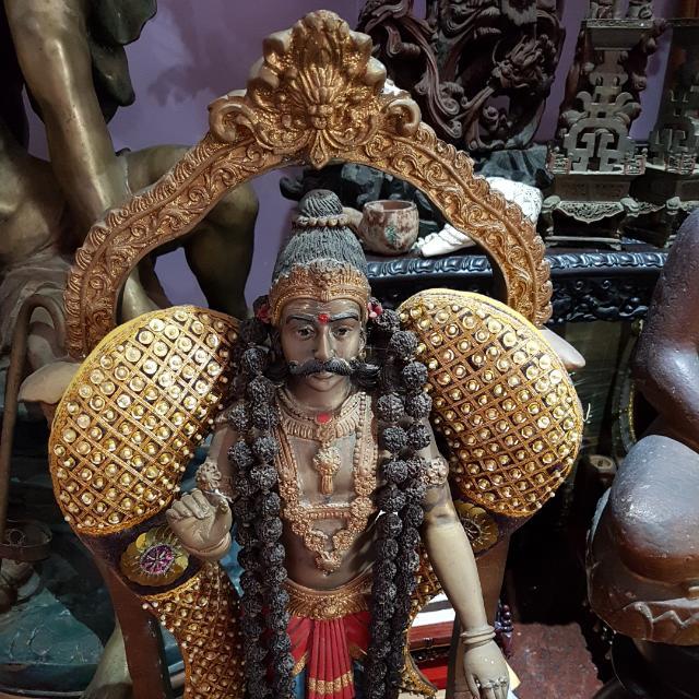 Muneeswaran Statue, Vintage & Collectibles, Religious Items