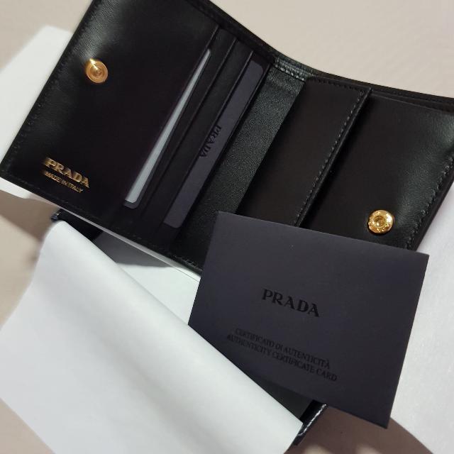 574d5fc03b New Authentic Women Prada Wallet Bifold Portaf. Verticale 1MV204 ...