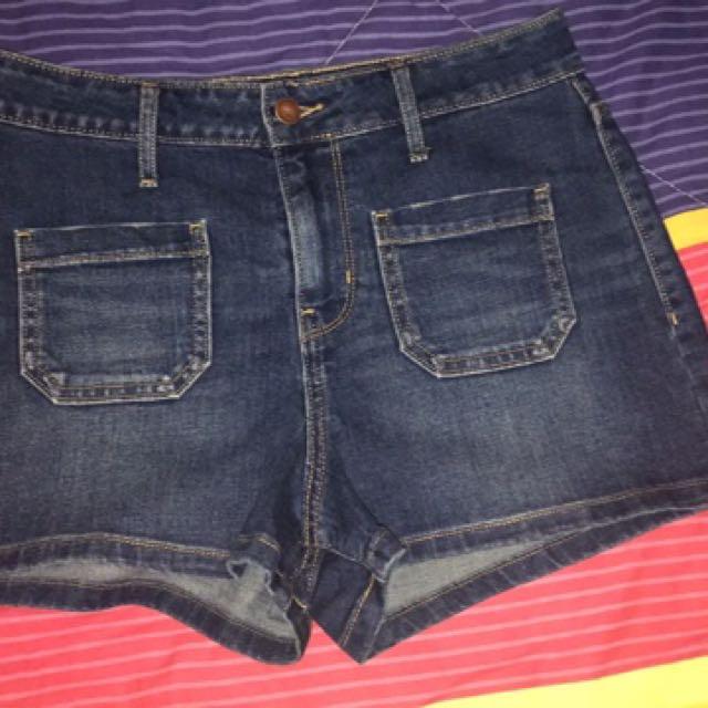 Old Navy High Waist Denim Shorts Size 4