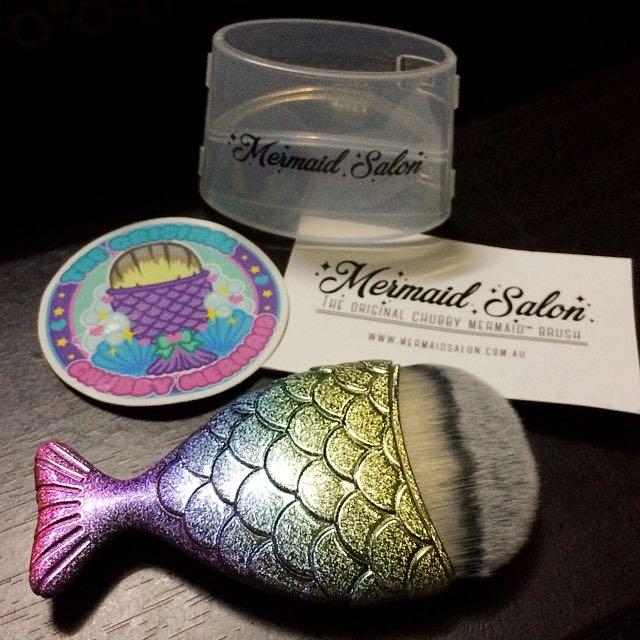 ORIGINAL: Chubby Mermaid Brush By Mermaid Salon