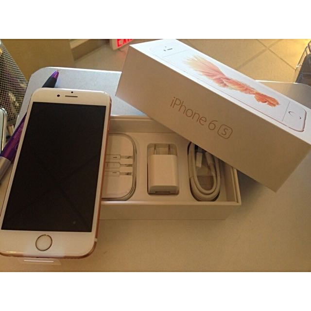 Original Iphone 6s 64gb Gold Factory Unlocked