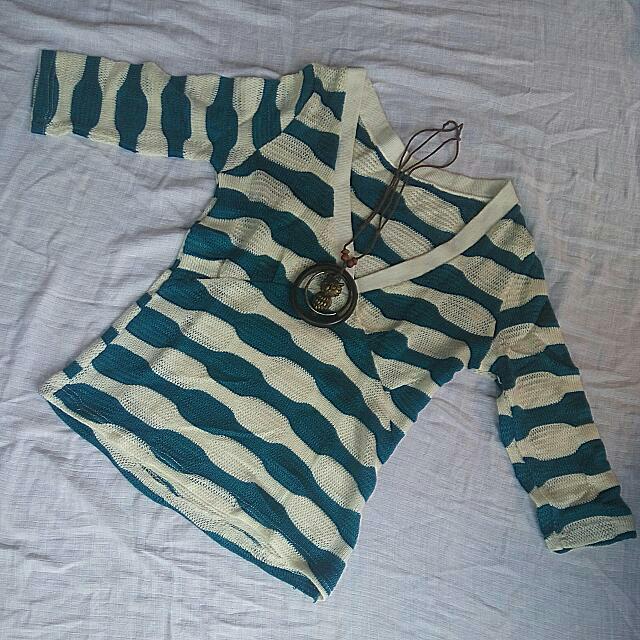 Outer Knit Stripe
