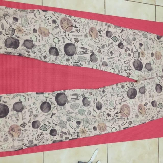 pajama printed