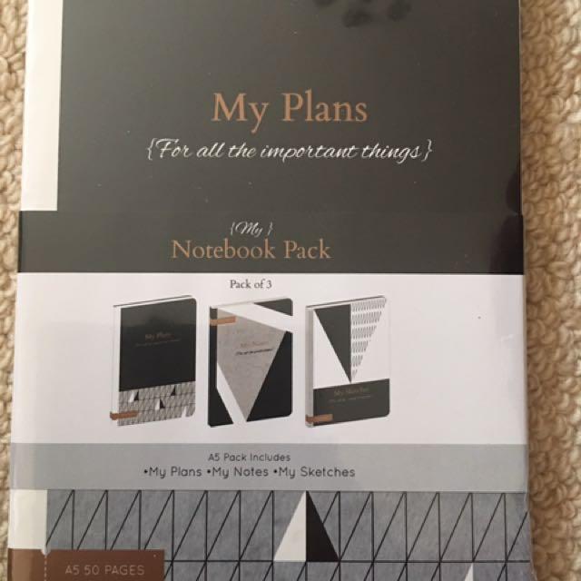 Planning Books. Brand New
