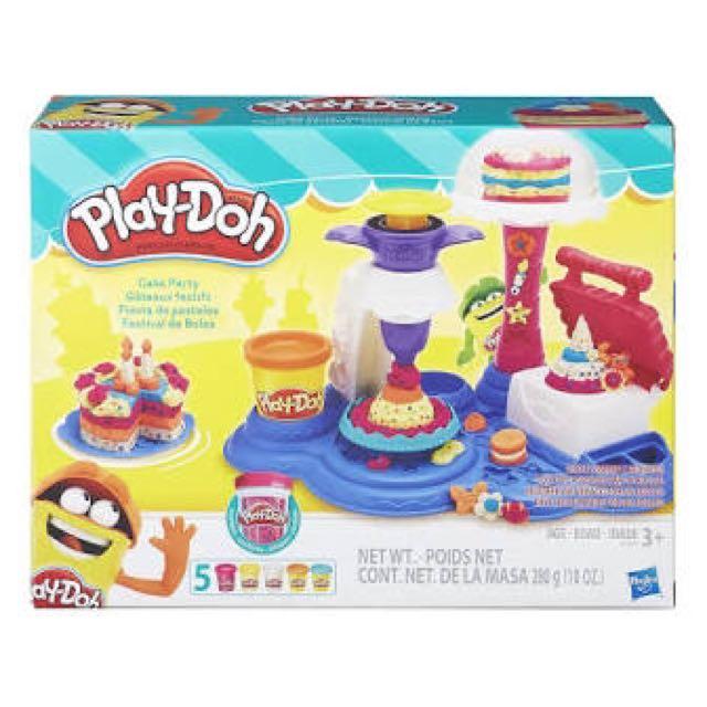 PlayDoh Cake Party