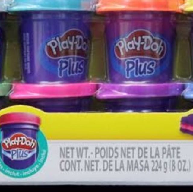 PlayDoh Modelling Compound - Isi Doh Plus - Isi PlayDoh Plus - Refill PlayDoh Plus