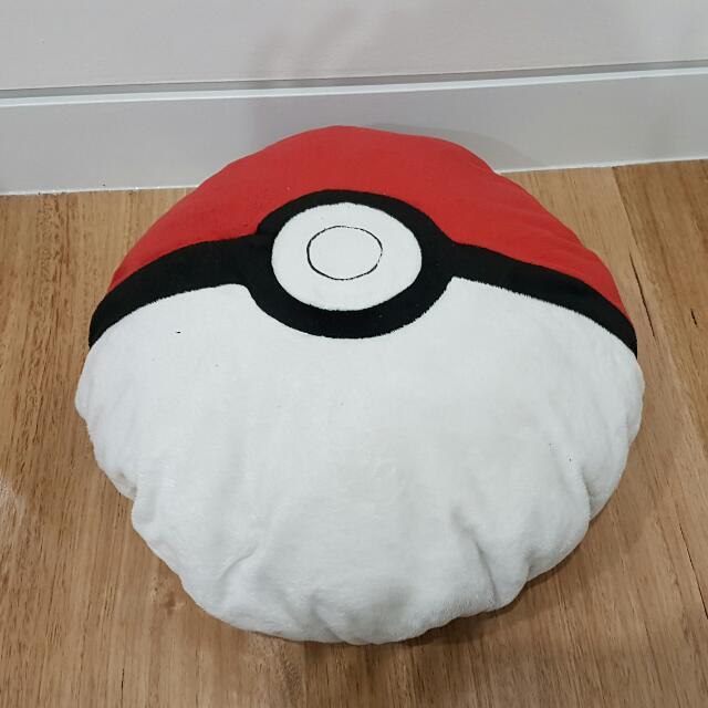 Pokeball Cushion