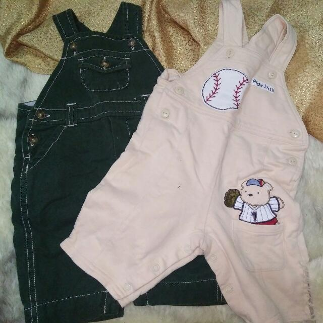 PRE-LOVED BABY JUMPSUITS