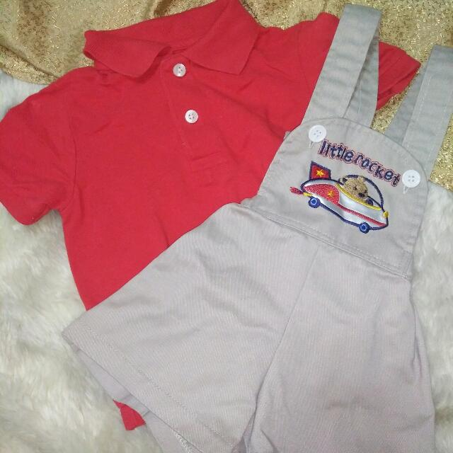 PRE-LOVED JUMPSUIT & POLO