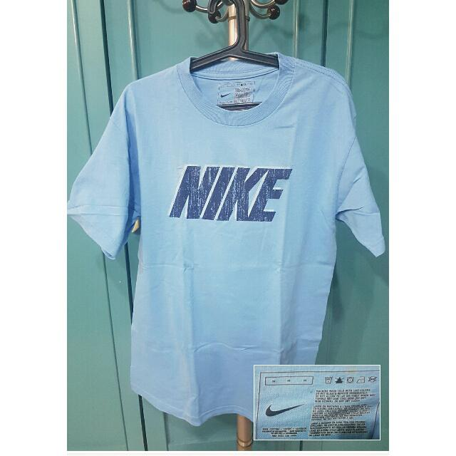 Preloved Sky Blue Nike Shirt