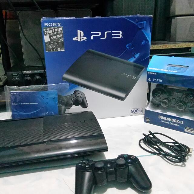 PS3 500gb with 6 games