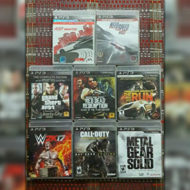 Ps3 Used Games