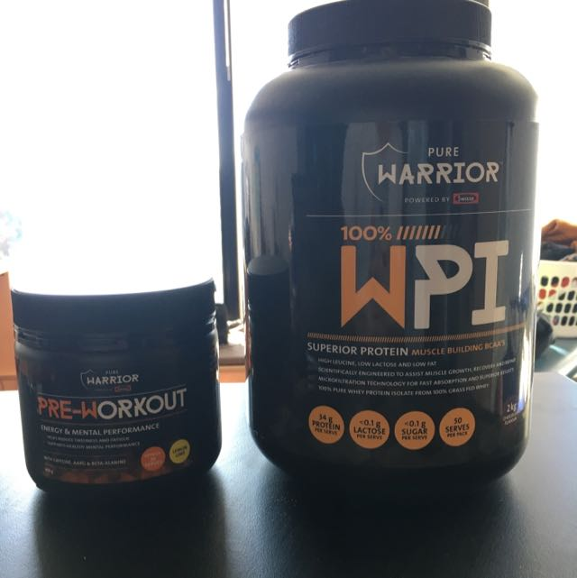 Pure Warrior Chocolate Protein And Preworkout