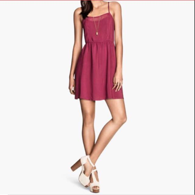 Red Strap Dress H&M