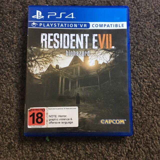 Resident Evil Bio Hazard VR Edition