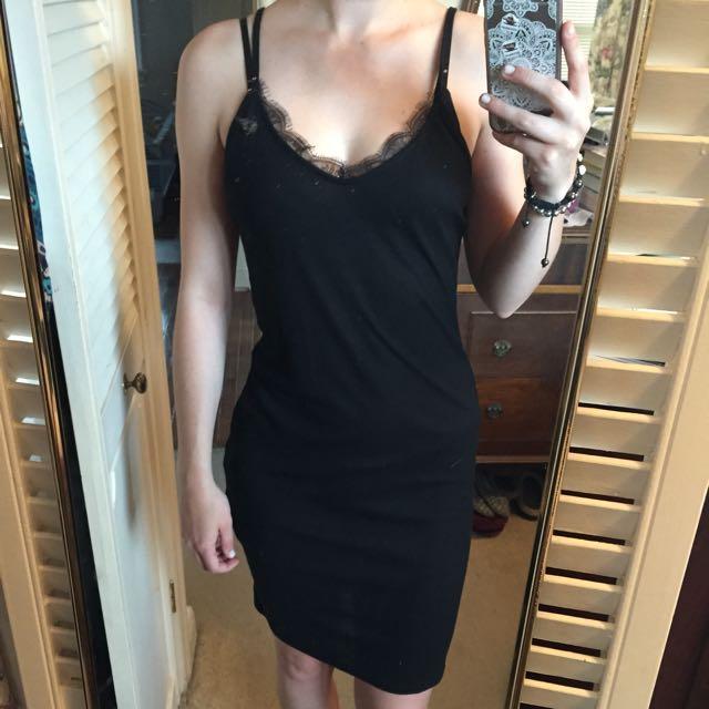 Ribbed Slip Dress