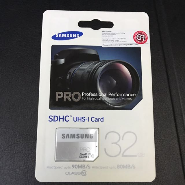 Samsung Pro SDHC UHS-1 32GB