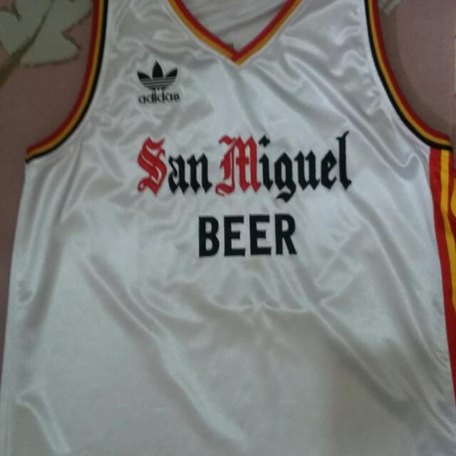 999f4a65f5c San Miguel Beermen PBA retro jersey, Sports, Athletic & Sports Clothing on  Carousell