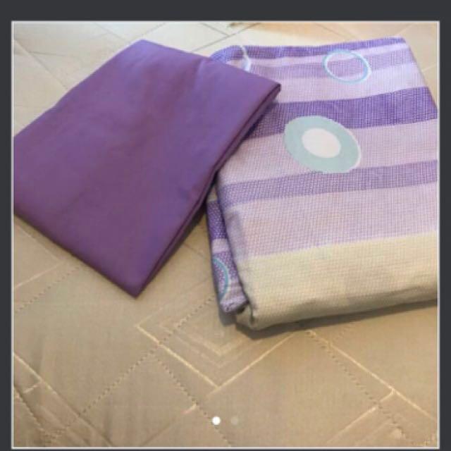#SempenaRaya Queen size Bedsheet