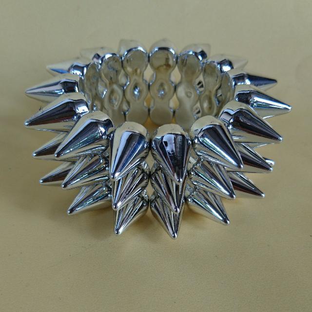 Silver Punk Bracelet