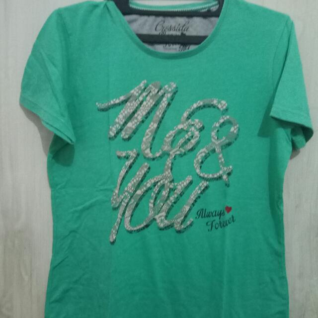 Simple T-shirt Green